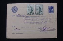 U.R.S.S. - Entier Postal + Compléments De Moscou Pour La Suisse En 1934 - L 91862 - ...-1949