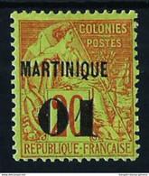 Martinica (Francesa) Nº 3 Nuevo* Cat.28€ - Neufs