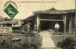 CPA RARE SAINT HILAIRE LA PALLUD TUILERIES DU PAIRE - Other Municipalities