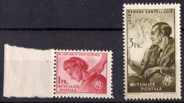1944 Bienfaisance Des PTT N** 30 31 MNH - Other