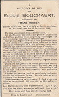 Wulpen, Oostduinkerke, 1935, Elodie Bouckaert, Rubben - Andachtsbilder