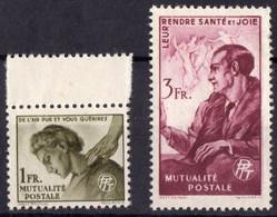 1945 Bienfaisance Des PTT N** 42 43 MNH - Other