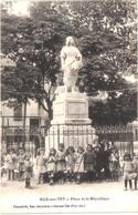 FR66 ILLE SUR TET - Ponceille - Place De La République - La Faucheuse - Enfants - Animée - Belle - Altri Comuni