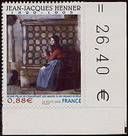 FRANCE Timbre Adhésif Année 2008 N° 223 Peinture Jean-Jacques HENNER - Luchtpost