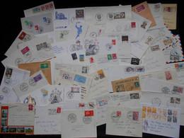 Lot De 40 Enveloppes & 9 Cartes Plus Beau Bonus ,de La France. Occasion A Ne Pas Rater. - Mezclas (max 999 Sellos)