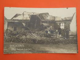 Cortemarck    Kortemark  Wijk Huilaertmolen   Fotopostkaart  1914 - 18  ( 2 Scans ) - Kortemark
