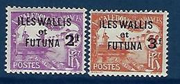 """Wallis Taxe YT 9 & 10 """" Complet """" 1927 Neuf* - Postage Due"""