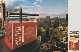 Ancienne Publicité Papier - Advertising Paper -  Pall Mall Allumettes  2 Pages - Advertising