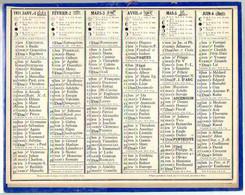 CALENDRIER GF 1931 - Sans Texte Et Sans Photo-image, édition Des P&T - Tamaño Grande : 1921-40