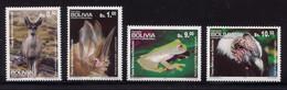 BOLIVIE Année 2013 Série De 4 Valeurs - Faune Bolivienne Dont Condor - Sonstige