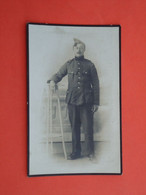 Oorlogsslachtoffer Camille Bondue Geboren Te Dranoutre 1897 Verongelukt Treinbotsing Bij Dunkerque 1919   (2scans) - Religion & Esotericism