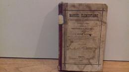"""VICTOR BARBIER."""" Manuel élémentaire D'agriculture & D'horticulture , Spécial à La Haute Saône(70).""""1879.(R4) - Jardinería"""