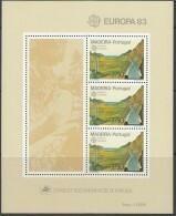 PORTUGAL MADEIRA  Block 4, Postfrisch **, Europa CEPT: Große Werke Des Menschlichen Geistes 1983 - 1983