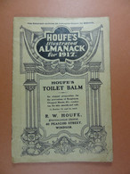 Houfe's Illustrated Almanack For 1917 (23 Pages Dimensions 12 Cm X 18 Cm) - Other