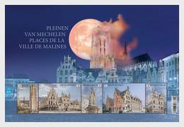 Pre Order Delivery 3-4 Weeks Belgien 2021 MNH ** Places Of Mechelen - Blokken 1962-....