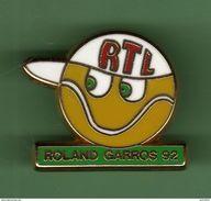 ROLAND GARROS 92 *** RTL *** Signe DECAT *** 5041 - Media