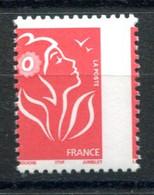 RC 20490 FRANCE N° 3734 MARIANNE DE LAMOUCHE VARIÉTÉ DENTELURE DÉCALÉE NEUF ** MNH TB - 2004-08 Marianne De Lamouche