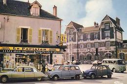 77 - CHELLES - La Gare Et La Maison De La Presse  - CPM - Chelles