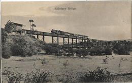 OUGANDA SALISBURY BRIDGE TRAIN CHEMIN DE FER - Uganda