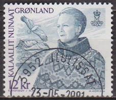 Reine Margrethe II - GROENLAND - Mont Sermitsiaq, Oiseau Marin - N° 349 - 2001 - Gebraucht
