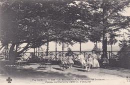 La Bourboule La Terrasse Des Docteurs Plateau De Charlanne - La Bourboule