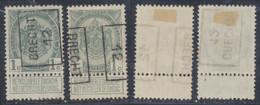"""Armoiries - N°81A Préo """"Brecht 12"""" Position A/B Complet / Collection Spécialisée. - Rollini 1910-19"""