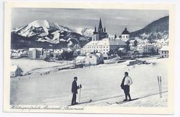 Italien,  Mariazell Steiermark Winter Sport Platz, Sw AK M. Ski Personen. #874 - Unclassified