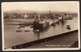 The Harbour, Peel, I.O.M. Used In 1946 - Isola Di Man (dell'uomo)