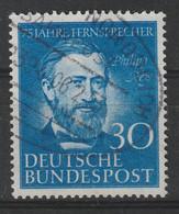 Bund 161 Gestempelt - Philipp Reis Telefon 1952 - Usati