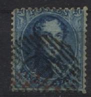 N°15 Obl. Ambt O.III Ambulant Ouest III - 1863-1864 Medallones (13/16)