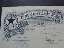FACTURE - 60 - DEPARTEMENT DE L'OISE - LA CHAPELLE AUX POTS 1939 - FROMAGERIE DE L'ETOILE - Non Classificati