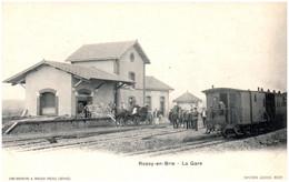 77 ROZAY-en-BRIE - La Gare - Rozay En Brie