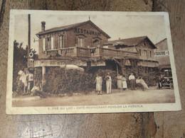CHATEAUNEUF DE GRASSE : Café Restaurant Pension LA PERGOLA  ................ 201101b-3023 - Otros Municipios