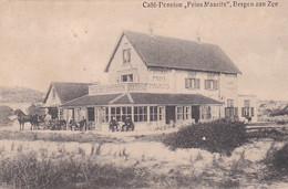 4822570Bergen Aan Zee, Café Pension Maurits. 1914.(linksonder Een Vouw) - Altri