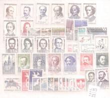 France - Année Complète 1958 - Timbres Poste N° 1142/1188 - 47 Timbres Neufs - 1950-1959