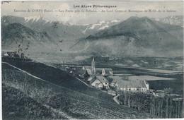 38   Corps  - Environs -  Les Payas Prid De Pellafol -au Fond Corps Et Montagnes De Notre Dame  De La Salette - Corps