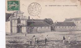 2833115Domfront, Le Théatre Et Le Collège 1913 (voircoins, Voir Verso) - Domfront
