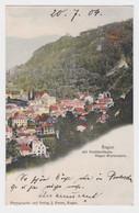 86806 Ak Ragaz Mit Drahtseilbahn Ragaz-Wartenstein 1904 - SG St. Gall