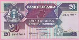 20 SHILLINGS 1988 UNC - Uganda