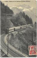 Cpa 1911 - Chemin De Fer électrique Montreux - Oberland L. B. 2841e (oblitérations Les Avants) - VD Vaud