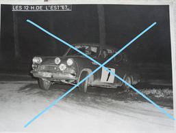 Photo 12 Hueres De L'Est 1967 Province Liège   Voiture Auto Automobile Oldtimer Car Wagen - Cars