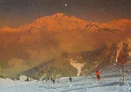 Savoie        H618        LE PLANAY D'ARCHES.Le Mont Blanc Vu Depuis Les Pistes De Grand'Combe - Autres Communes