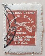 Charkhari - YT N°6 - Oblitéré - 1909 - Charkhari