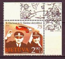 2008. Lithuania. Aviation. MNH. Mi. Nr. 980. - Lithuania