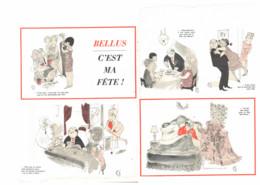 """""""  JEAN BELLUS  """" C'EST MA FETE  De  BELLUS 1964  ( 2 ) - Sonstige"""