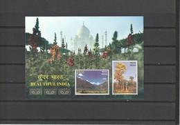 INDIA 2017 Beautiful India Miniature Sheet  / MS*** - Unused Stamps