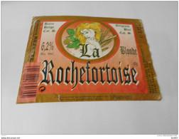 .ETIQUETTE BIERE LA ROCHEFORTOISE BLOND - Bier