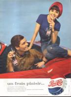 """PUB   """" PEPSI-COLA   """"  1964 ( 5 ) - Affiches Publicitaires"""