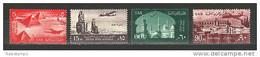 Egypt - 1959 - ( United Arab Republic, Pyramids, Azhar, Colossi Of Memnon & St.Catherine ) - MNH (**) - Unused Stamps
