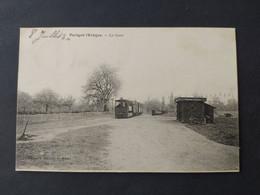 Parigné L'Evêque - La Gare (des Tramways) / Edition Bouveret / Timbre Et Cachet - Sonstige Gemeinden